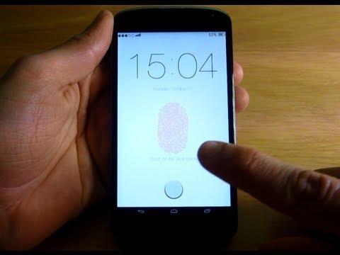 Как сделать блокировку пальцем 109