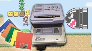 Floppies on your Super Nintendo (SNES)