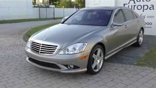 This 2007 Mercedes-Benz S 550 AMG Sport is a Loaded German Q-Ship and More Reliable Than You Think