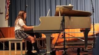 Wps Hannah Plays Jarrod Radnich Don 39 T Stop Believing