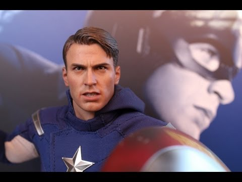 Captain America The Avengers Hot Toys figure review