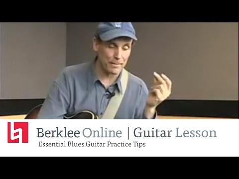 Essential Blues Guitar Practice Tips
