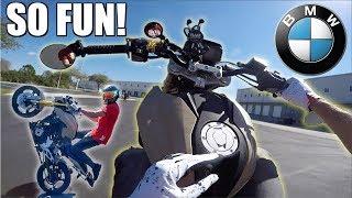 2018 BMW G310R Test Ride! - Amazing Starter Bike!