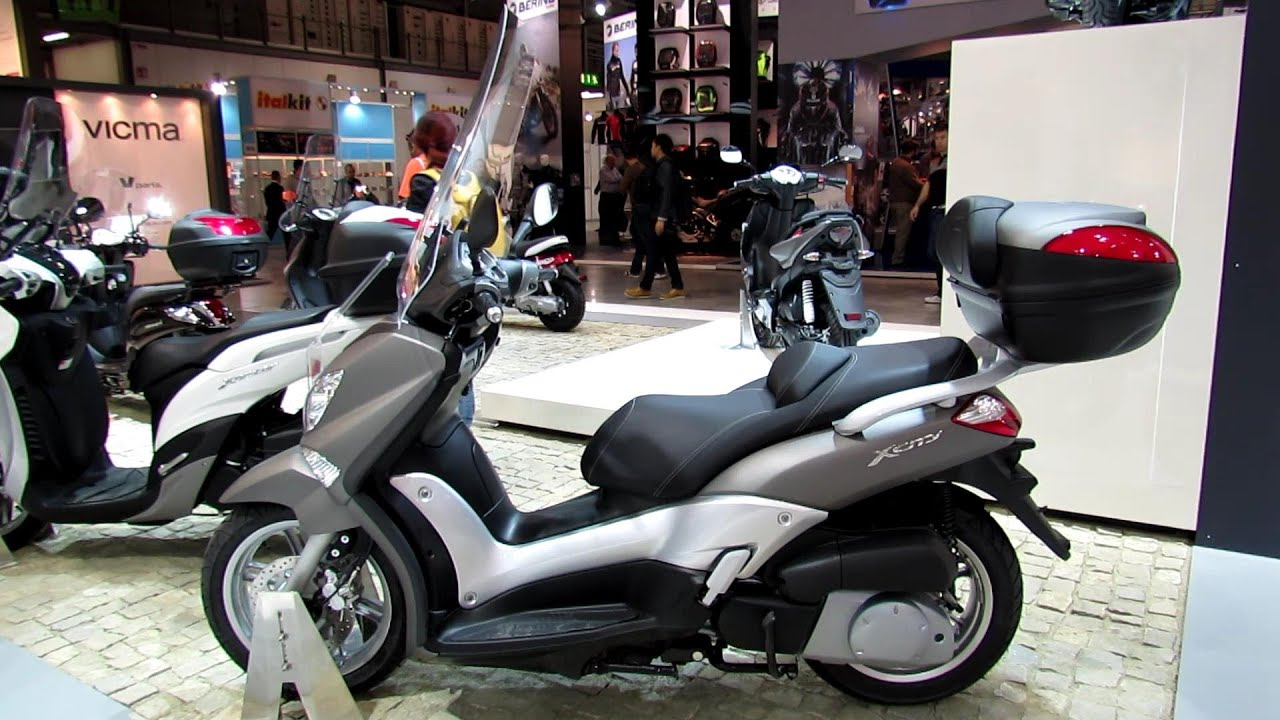 2014 yamaha x city 250 scooter walkaround 2013 eicma. Black Bedroom Furniture Sets. Home Design Ideas