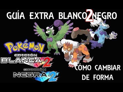 Cómo cambiar de forma a Landorus. Tornadus y Thundurus - Pokémon Blanco 2 Negro 2
