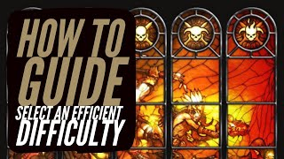 Diablo 3 - How To Select An Efficient Difficulty