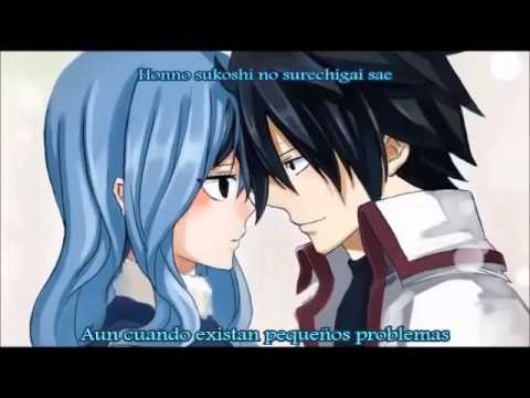 Fairy Tail Ending 6 - Be as one(Sub español)(Gray Fullbester)