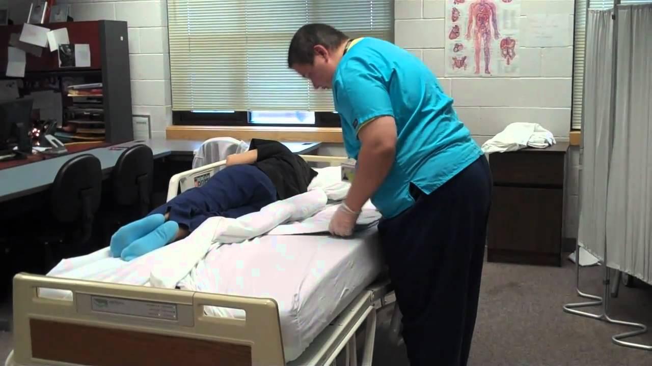 Steps For Making A Hospital Bed