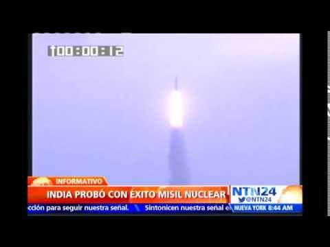 India realiza con éxito la prueba de un misil nuclear