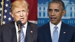 Trump calls out Obama