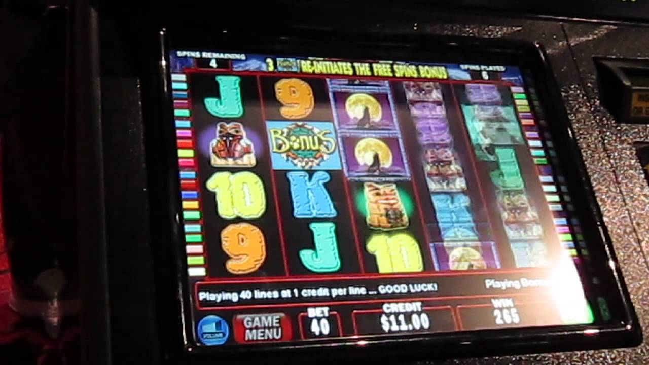 Wolf run slot machine online