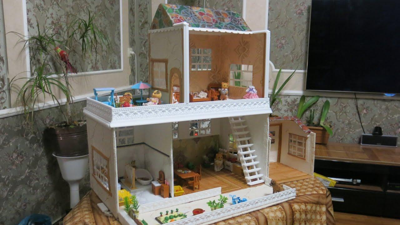 Кукольный домик своими руками пошаговое фото 3