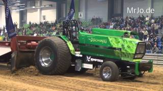 Dschinni Evolution Crash @  Riesa 06.04.2014 Tractor Pulling
