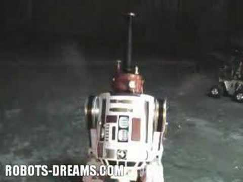 R2S2 - The Steam Powered R2D2 Robot from Crabfu