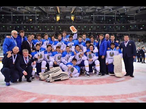 Церемония награждения сборной Казахстана