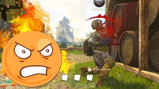CALL OF DUTY RAGE ... Ft. TheKoreanSavage - (COD WW2 Funny Moments)