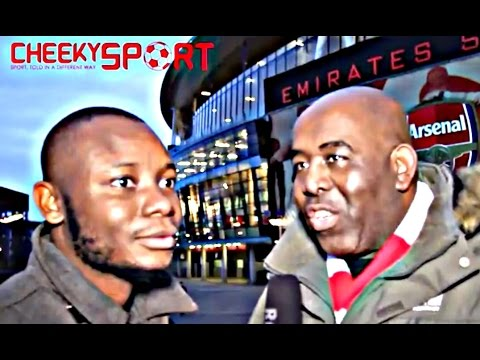 Cheeky Sport Banter Arsenal Fan TV, Max Branning, Mesut Ozil & More After Arsenal 3 - 0 Stoke