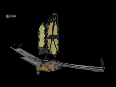 Последние приготовления телескопа им. Джеймса Уэбба