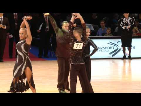 Bazev - Oladottir, ISL | 2013 World Latin R1 PD