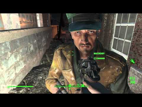 Fallout 4 playthrough pt55 - Pip-Light Color Change!/Robbing the Bank