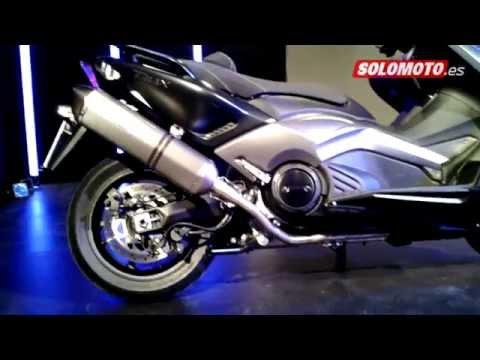 Salón Milán 2014: Yamaha TMAX