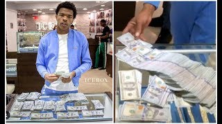 Dont Need No Money Counter! LIL BABY SPENDS $400K AT JEWELRY STORE