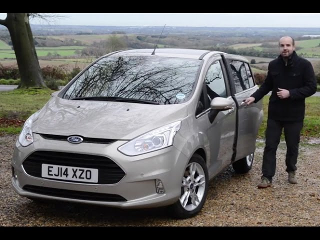 Ford B-Max 2014 review   TELEGRAPH CARS - YouTube