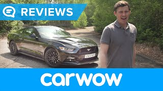 Ford Mustang V8 Sports Car 2018 review | Mat Watson Reviews