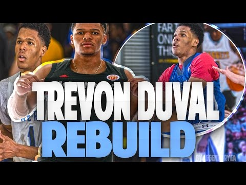 DRAFTING TREVON DUVAL! TRICKY TRE IS UNSTOPPABLE!! - NBA 2K17 MYLEAGUE