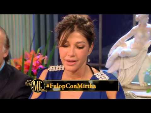 La noche de Mirtha 2014 - Catherine Fulop criticó el presente de Venezuela