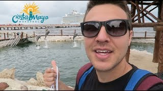 COSTA MAYA MEXICO CRUISE PORT FOR THE DAY (Allure of the Seas)