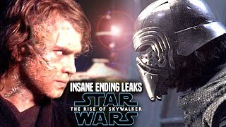 INSANE The Rise Of Skywalker Ending Scene Spoilers! (Star Wars Episode 9 Leaks)