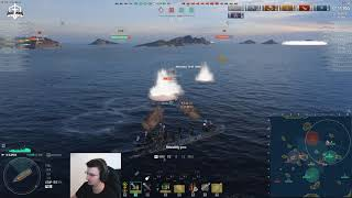 World of Warships - Hunting SUBS on live server