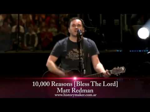 Matt Redman - 10,000 Reasons [bless The Lord] (subtitulado Español) video