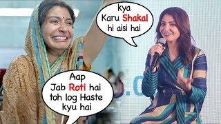 Anushka Sharma Makes FUN Of Her Own CRYING Scene In Sui Dhaga Trailer