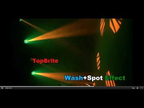 Светодиодная LED голова Led Moving Head Light 30W LED Spot + 48W Wash Stage Light C067