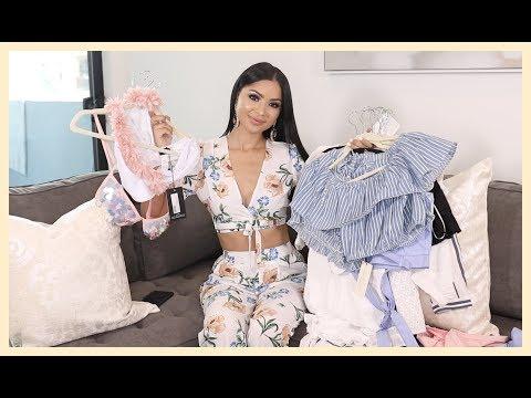 $800 HUGE SUMMER CLOTHING HAUL | Diana Saldana