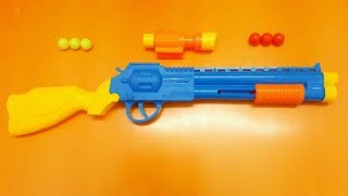 Colored Guns Toys Videos for Kids! #8