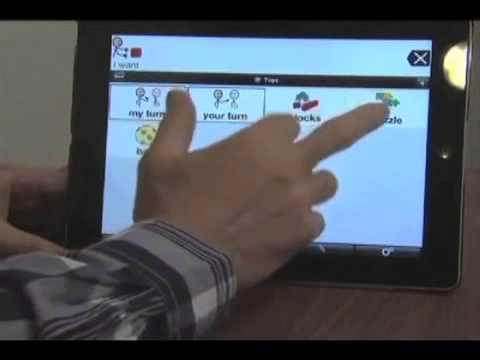 Tabletas: comunicación personas con autismo