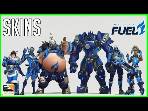 SKINS DALLAS FUEL | OVERWATCH LEAGUE | AlphaPlays