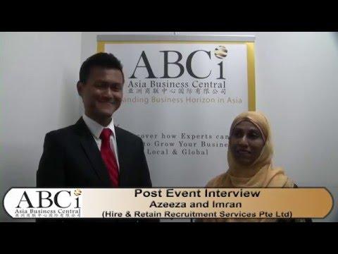ABCI Interviews - Imran Simon Hire & Retain Recruitment Services