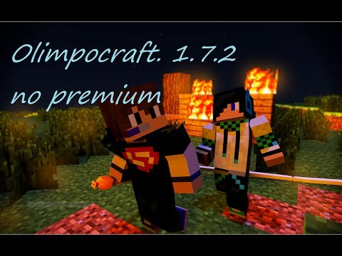 OlimpoCraft NO PREMIUM 1.7.2-1.7.5 server MINECRAFT