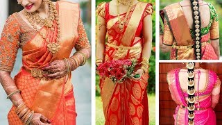 South Indian Bridal Blouse Neck Designs Top 30 Bridal Blouse Design Collections for Silk Saree
