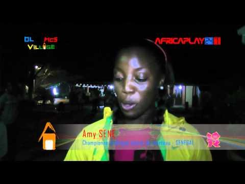 JO 2012 : Amy Sene :