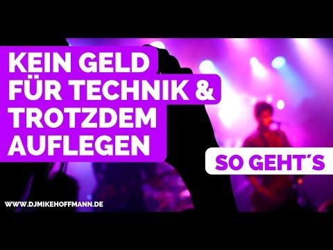 Kein Geld für DJ-Technik & trotzdem auflegen - 3 Tipps | DJ Tipps