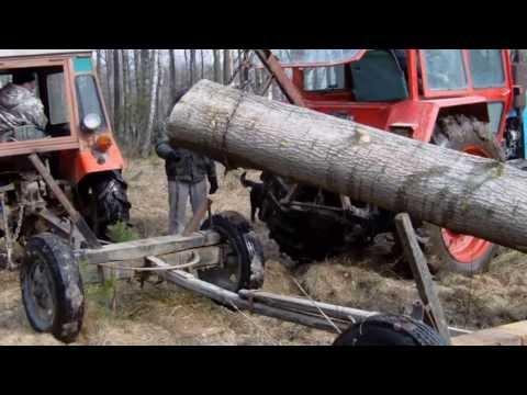 Z MTZ-82 w las :P