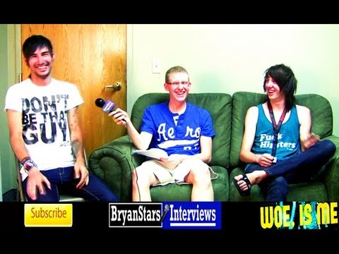 Woe Is Me Interview Michael Bohn & Ben Ferris Warped Tour 2011 Music Videos