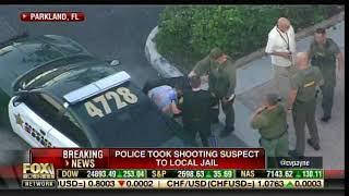 Florida Shooter Nicolas Cruz is Taken into Police Headquarters in Broward County