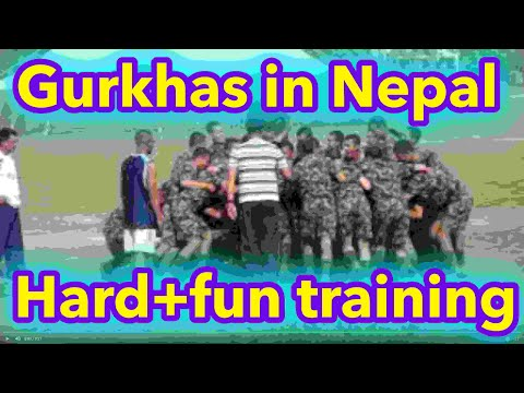 Nepal Army Training Nepal Army Recruit Training