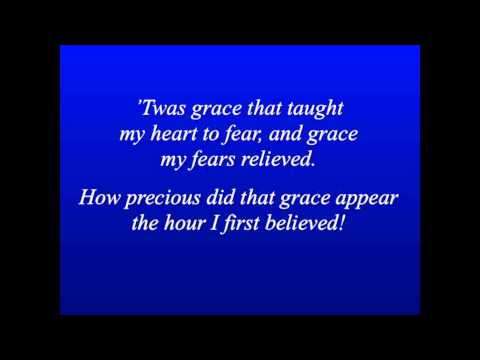 Amazing Grace - Piano And Lyrics Hd 1080p video
